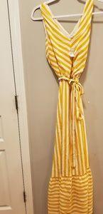 Loft maxi dress size 4